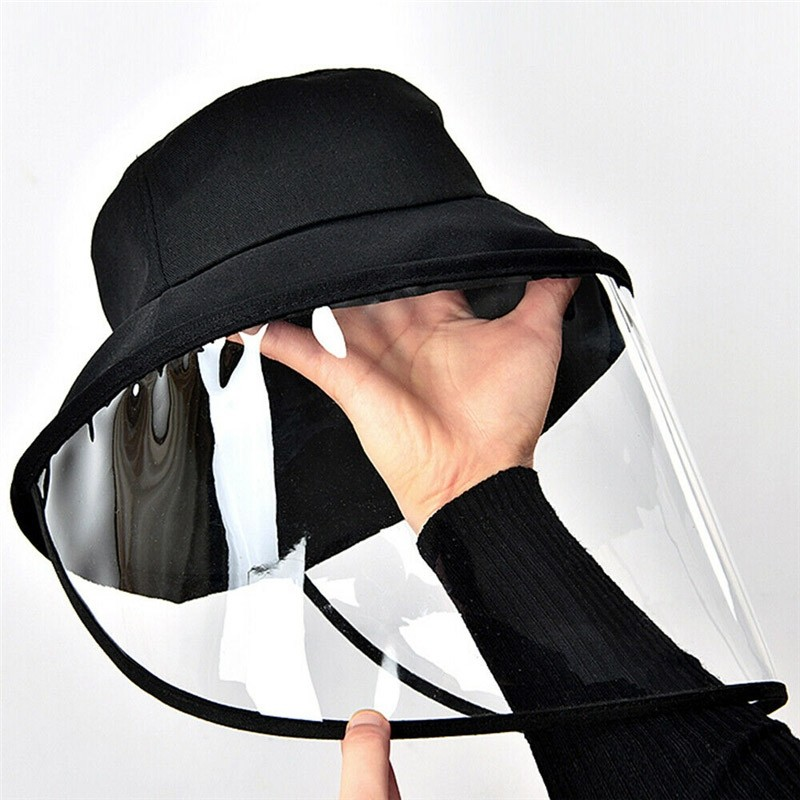 Removable Full Face Protective Cap Windproof Dustproof