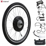 "Voilamart 48V 1500W 26"" Rear Wheel wuth LCD Meter Electric Bicycle Bike Motor Conversion Kit"