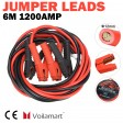 Voilamart 1 Gauge 20Ft 1200AMP Jumper Booster Cables w/ Carry Bag, Instruction Slip, Commercial Grade Automotive, Heavy Duty for Auto Car Van Truck